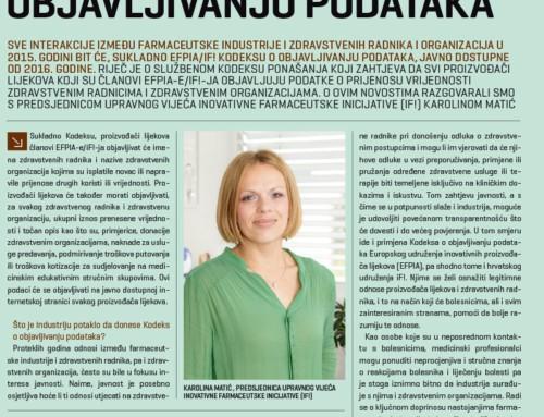 Javna objava: Intervju s predsjednicom