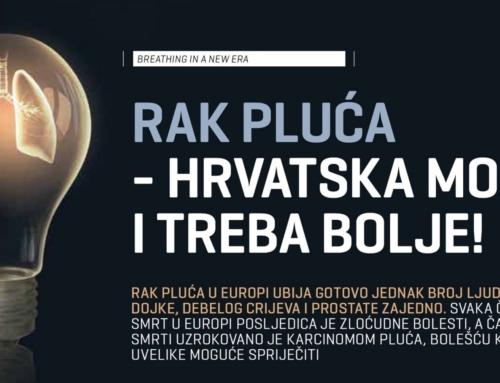 Rak pluća – Hrvatska može i treba bolje